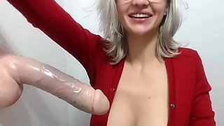 COCK SUCKING & COCK WORSHIP FROM YOUR BLONDE SEX SLAVE