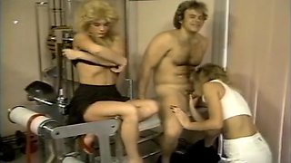 Doctor Examines Patient & Nurse In This Classic 70's Porn