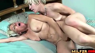 Daughter seduces drunk mother