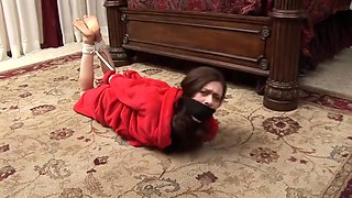 Aunt Hogtied & Double Gagged
