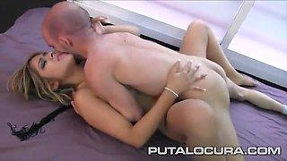 Blonde latina fuck midget (español)