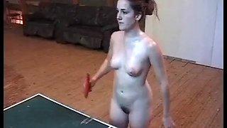 Nude tabletennis