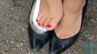 Ultimate Leather Heels Stilettos Shoes Cuir Leder