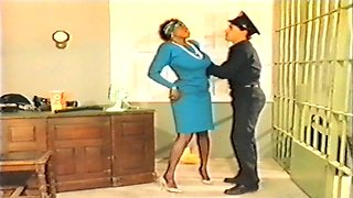 Hot black nurse detained at police station