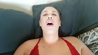 Amazon gets dirty anal creampie