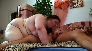 Extreme fat wife brutal big cock fucked
