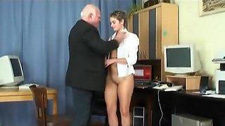 Old Stud Young Slut #7, Scene 1