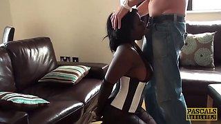 Pascalssubsluts ebony eden adore eats cum after domination