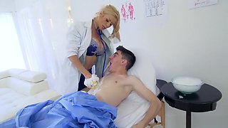 Young patient fucked by MILF doctor