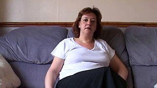 BRITISH MATURE AMATEUR FANNY