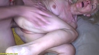 crazy 82 years old mom rough stepson fucked