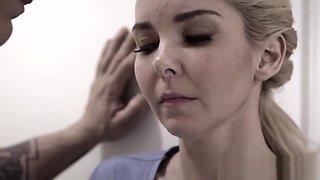 Taboo nurse face jizzed