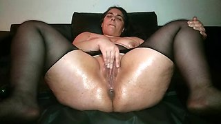 Pussy squirting (courgette) part1