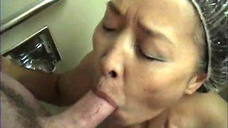 Japanese Granny Cumslut