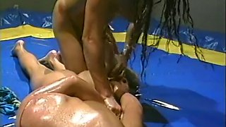 Matrock adventuresjetset productions: nasty babes oil wrestling trailer