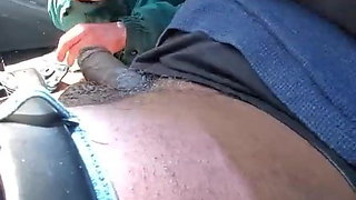 Aggressive Mature Red Head Makes Sub Eat Pussy To Cum In His