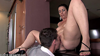 horny husband bangs wife before going out