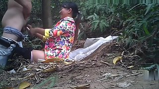 Asian Prostitute Outdoors Doggy Style