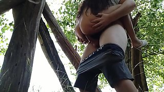 Face Cumming Outdoor Abuse Extremely Tight Little Girl