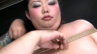 Japanese SSBBW BDSM fisted toyed Juria