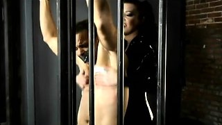 Gorgeous dark-haired Anastasia Pierce loves to dominate a guy