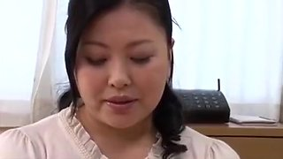 Shiho Terashima - Busty mother-in-law is more sexually excited than wife.