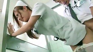 Horny Japanese girl Koi Aizawa in Fabulous Nurse JAV scene