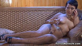 Pantyhose1 Clip: Mireille and Viola