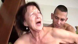 Ajx granny and son 32