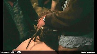 Nathalie nell frontal nude &amp ganbang rough scenes