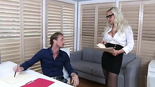 Kylie Page fucks her boss