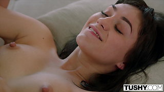 TUSHY Innocent College Student Is Secretly A Anal Lover