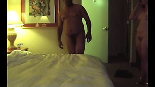 Curvy brunette wife indulges in a wild interracial threesome