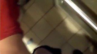 anal in public toilet