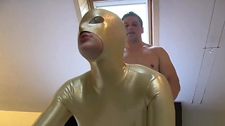 Glamour beauty babe fucked in spanex
