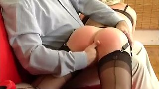 Spanked until she comes
