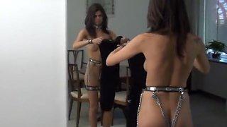 girl steel bondage