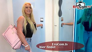 German mature housewife first time threesome amateur casting