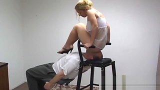 Amateur smothering femdom