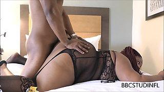 Sexy Black BBW Loves To Fuck BBC