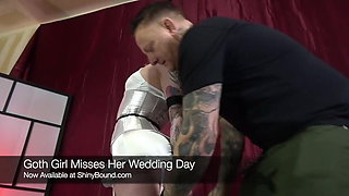 Goth Bride Tied Tight