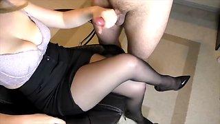 Cum on clothes comp