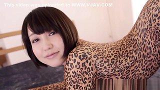 Flexible asian cosplay fun with fantasy babe