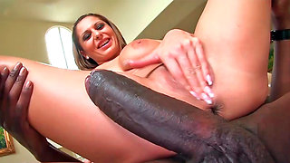 Alison Star having amazing interracial sex with some hung guy