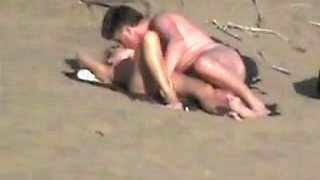 Nude Beach - Couples Competing for Voyeurs Attention