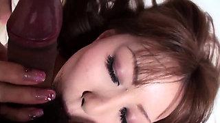 Yuu Sakura sucks with passion befor - More at 69avs.com