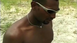 Brazilian Babe Ass Fucked On The Beach