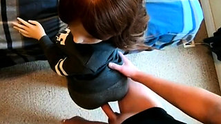 Small Sex Doll Casting in Yoga pants