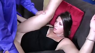 Pawg mom forced to fuck