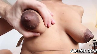 Thai slut enjoys a rough anal fuck and gets it in twat